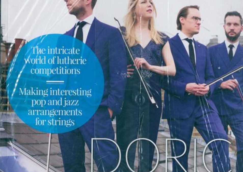 Doric String Quartet featured in The Strad Magazine
