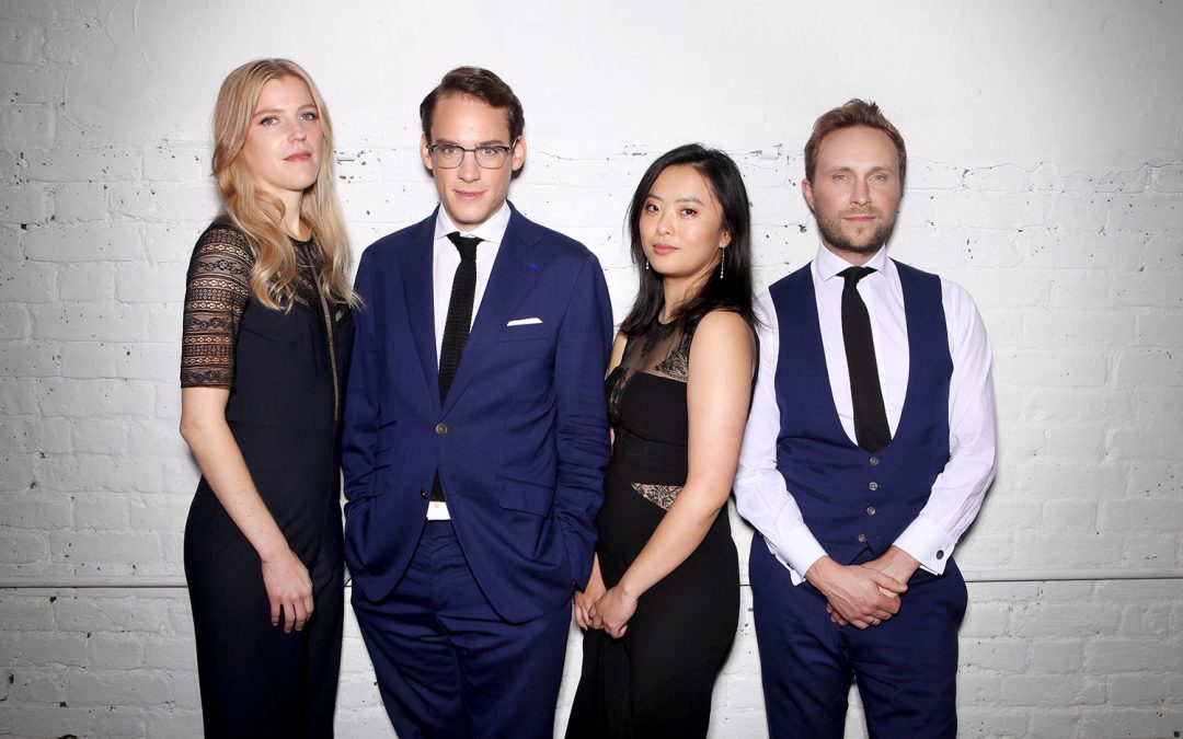 The Doric String Quartet return to the Wigmore Hall and appear on 'In Tune'